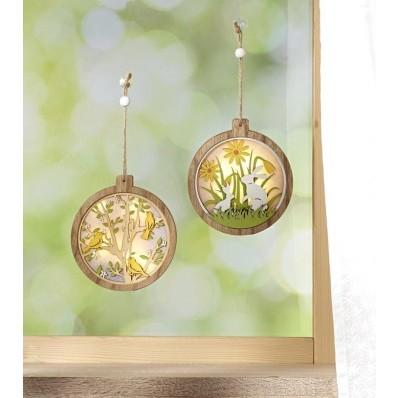"""LED závěsná dekorace """"Ptáčci"""""""