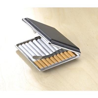 Puzdro na cigarety, čierna
