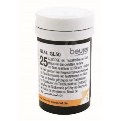 Set teste de glicemie, 2 x 25 buc. pentru glucometre GL 50