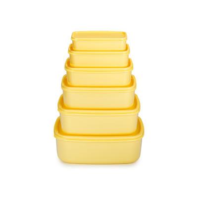 6-częściowy zestaw pojemników na żywność