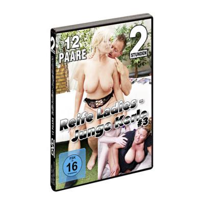 """DVD """"Zralé ženy - mladší milenci 3"""""""