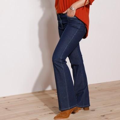 Bootcut džíny s 5 kapsami