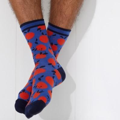 """Pánské žakárové ponožky """"pomeranče"""", 1 pár"""