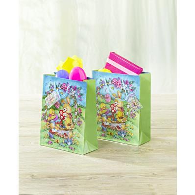 2 veľkonočné darčekové tašky