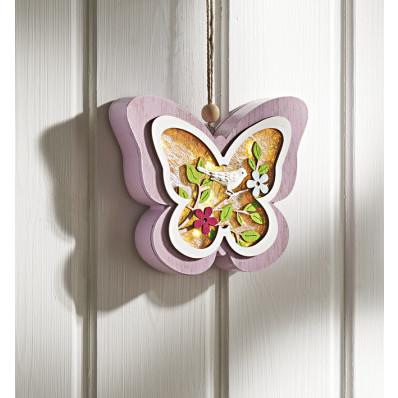 LED motýl