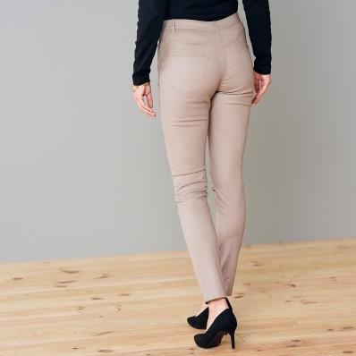 Nohavice v koženom vzhľade