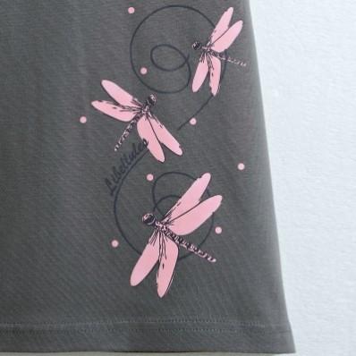 Noční košile s krátkými rukávy