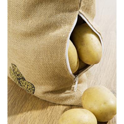 Jutové vrecko na zemiaky