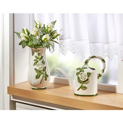 """Váza """"Bílé růže"""""""