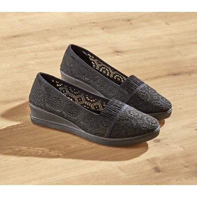 Materiałowe buty Sara