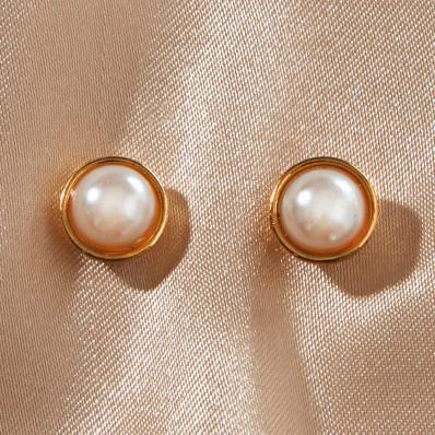 Cercei cu inchidere magnetica  Perle