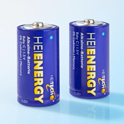2 baby batérie LR14