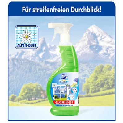 """1 čistič okien """"Alpská vôňa"""" + 1 čistič okien """"Alpská vôňa"""" ZDARMA"""