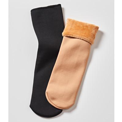 5 párov termo ponožiek