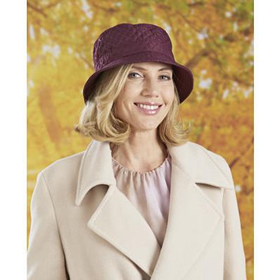 Prešívaný klobúk