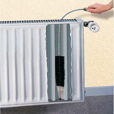 Kartáč na ploché radiátory