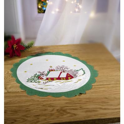 """Dečka """"Vianočná krajina"""""""