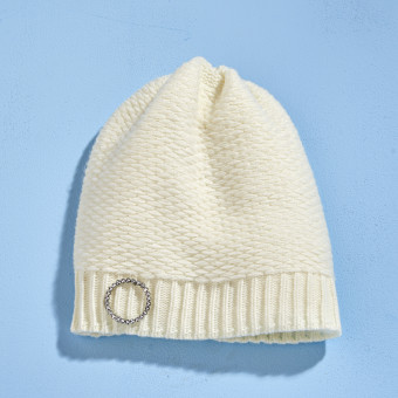 Dziergana czapka