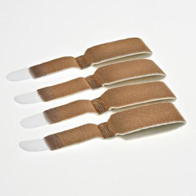 4-dielna súprava bandáží na kladivkové prsty