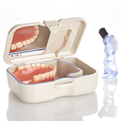 Dóza na zubní protézu
