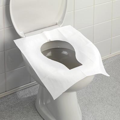 25 hygienických podložiek na WC