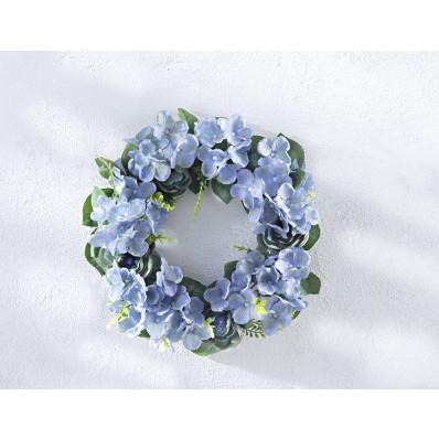 """Květinový věnec """"Modré květy"""""""