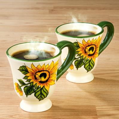 """Šálka na kávu """"Slnečnica"""""""