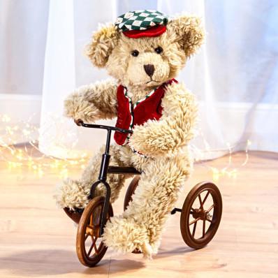 Medvěd na tříkolce