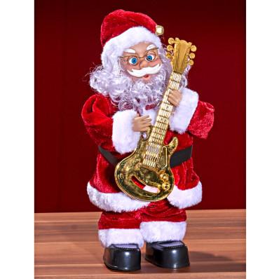 Santa Claus s kytarou