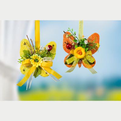 Sisalový motýľ, žltá