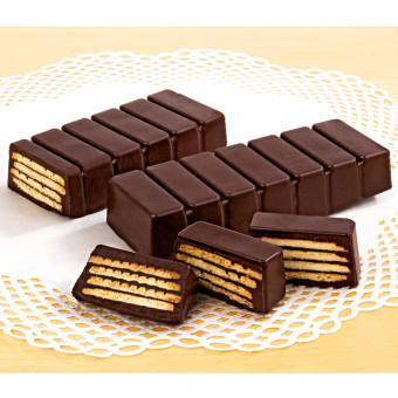 2 čokoládové dortíky