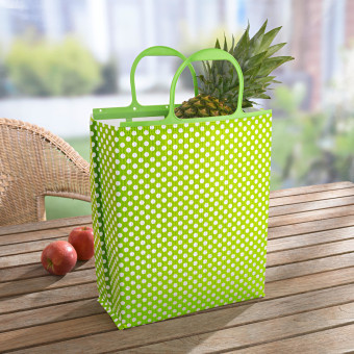 """Chladicí taška """"Léto"""", zelená-stříbřitá"""