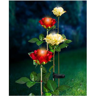 Lampka solarna Róża