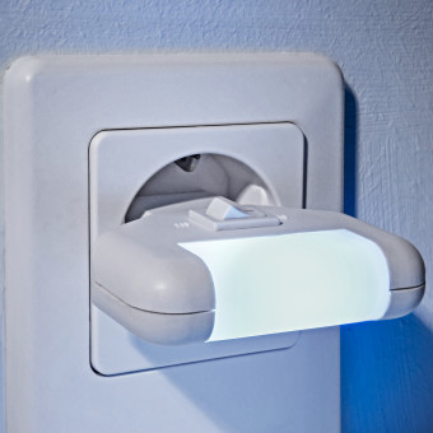 1 LED úsporné nočné svetlo