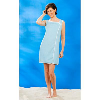 Plážové šaty, modrá