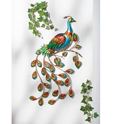 Fali dekoráció Páva