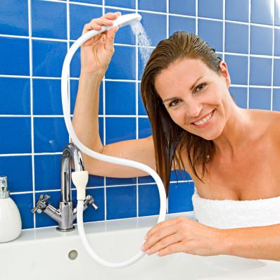 Sprcha na umývadlo