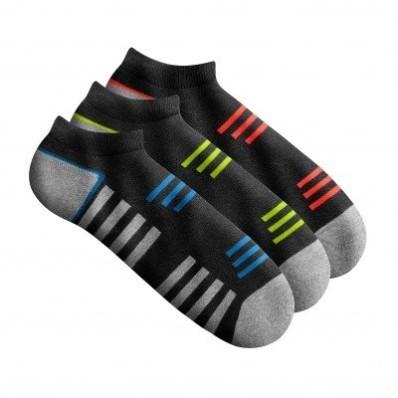 Športové nízke ponožky, sada 3 párov