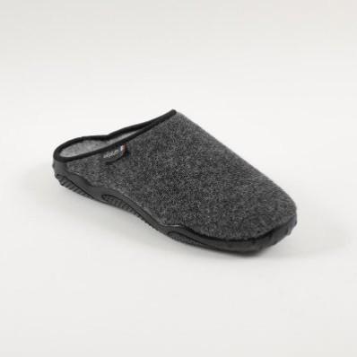 Pantofle s podrážkou Airplum, vlněný vzhled