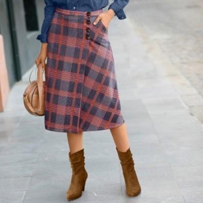 Puzdrová sukňa z Milano úpletu