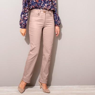 Twillové nohavice s gombíkmi