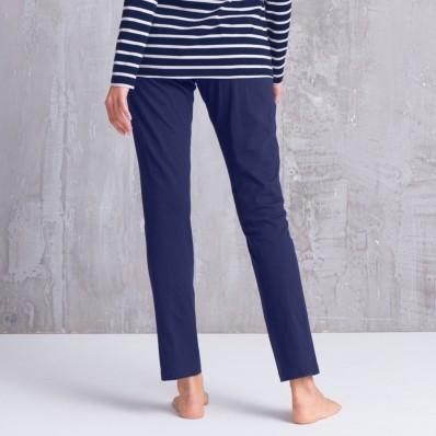 Jednobarevné pyžamové kalhoty, bavlna