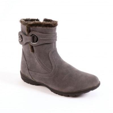 Členková obuv, tmavosivá