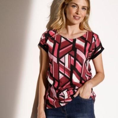 Tričko s grafickým vzorem
