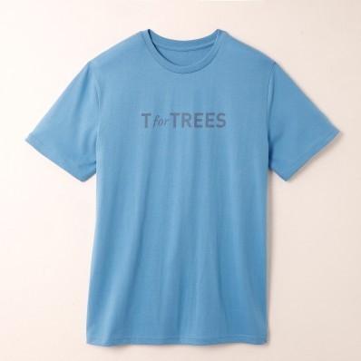Tričko s potiskem, certifikát Öko-Tex, modré