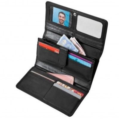 Peňaženka z jahňacej kože