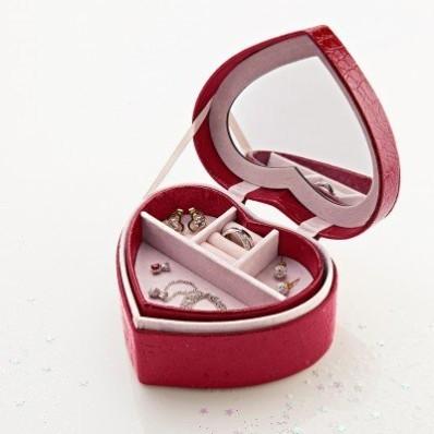 Šperkovnice ve tvaru srdce