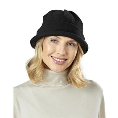 Fleecový klobúk, bordó