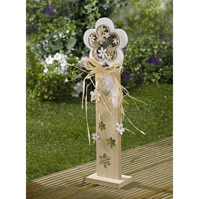"""Dekoratívny stĺp """"Kvety"""""""