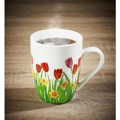 """Šálka na kávu """"Tulipány"""""""